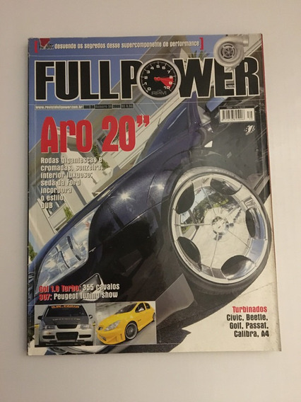 Revista Full Power 39-2005 Civic Beetle Golf Passat