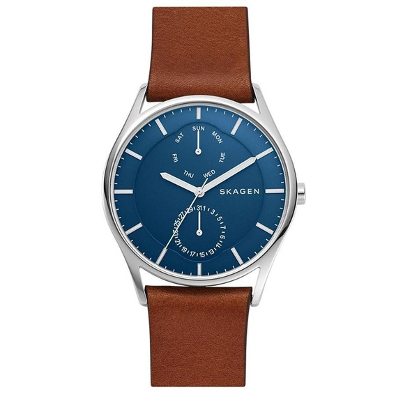 Relógio Skagen Masculino Ref: Skw6449/0mn Slim Prateado