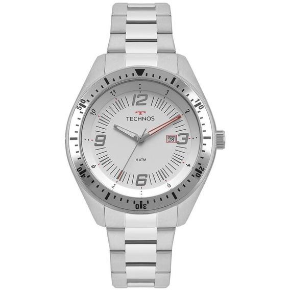 Relógio Technos Masculino Ref: 2115mqp/1b Racer Prata