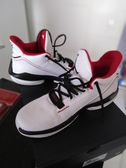 Tênis Air Jordan 2x3 - Branco X Vermelho - 44