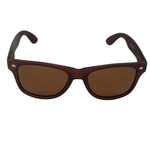 Óculos De Sol Quadrado Marrom Geror 02651 Desconto 30%