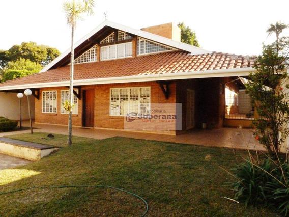 Excelente Casa Térrea Com Mezanino - 247m² Área Útil, 03 Wc, 3 Vagas (possibilidade De Adaptar O Terreno Para Aumentar O Número De Vagas) - Próximo À - Ca3419