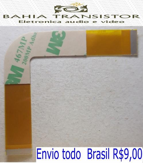 Cabo Flat L Leitor Play 2 Slim 70xxx = Kit Com 2 Peças