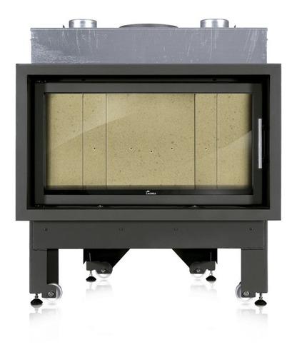 Imagen 1 de 6 de Estufa Calefactor A Leña Insertable Lacunza Inca 100