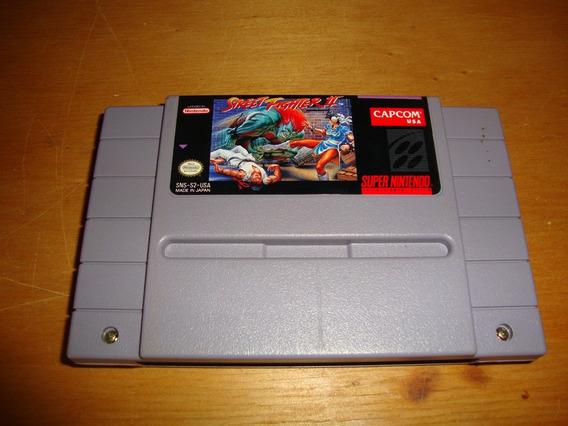 Street Fighter Ii Original Americano Para Super Nes