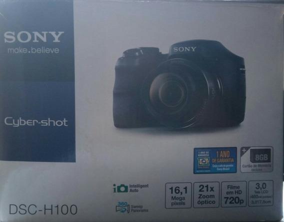 Câmera Digital Sony Cyber-shot Dsc H100