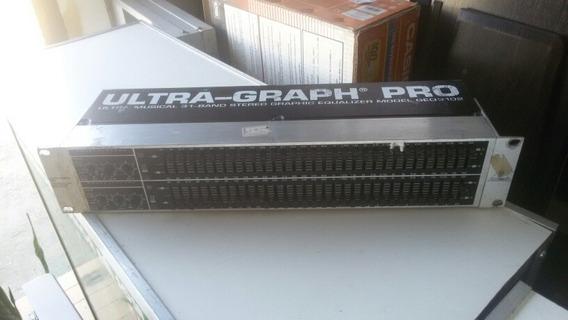 Equalizador Behringer Ultra Graph Pro Geq 3102 31 Bandas
