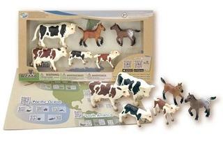 Wenno Set Animales Granja Europa Int 35110 Original Wabro