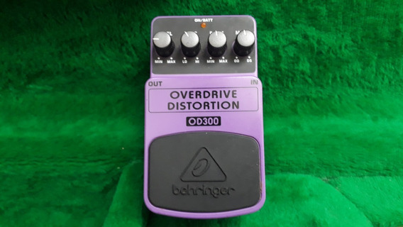 Pedal Beringher Do300 Overdrive Distortion