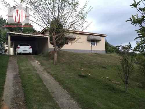 Imagem 1 de 30 de Chácara Com 04 Dormitórios, 02 Casas, Ótimo Bairro, Linda Vista À Venda, 1006 M² Por R$ 320.000 - Zona Rural - Pinhalzinho/sp - Ch0534
