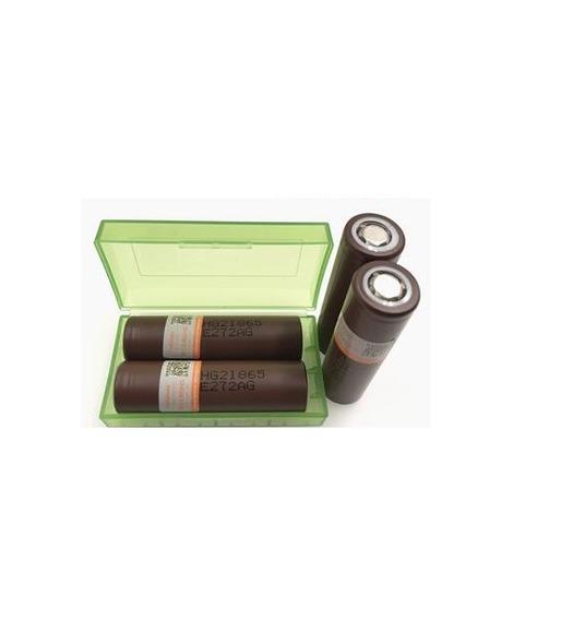2x Bateria Lg Hg2 18650 Chocolate 3000mah Vaporizador Vape