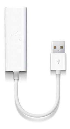 Adaptador Para Macbook Externo Usb Branco Apple - Mc704bea