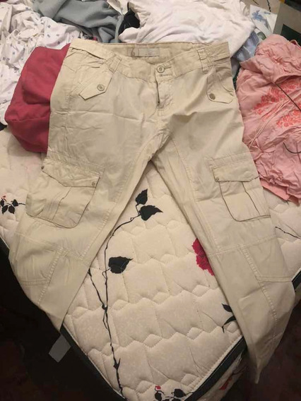 Pantalón Babucha Talle 40 Beige