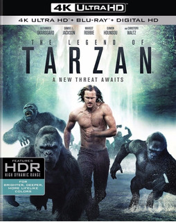 Tarzan La Leyenda Blu-ray Final!!!