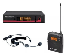 Ew152g3 Sennheiser Microfone Headset De Cabeça Setup Complet