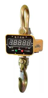 Balanza Colgante Digital 3000 Kilos Con Control Remoto