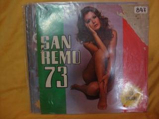 Vinilo Festival San Remo 1973 Tadini Grag Gougoush Fontana