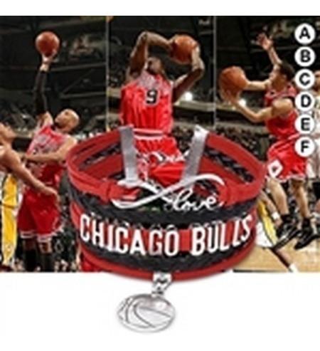 Pulseira Chicago Bulls Frete Grátis