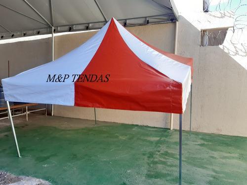 1 Tenda Sanfonada 3x3 Cores Cobertura Reforçada