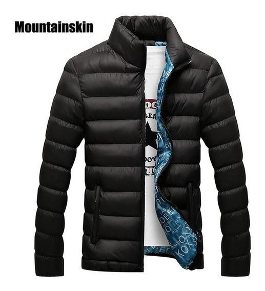 Jaqueta Acolchoada De Nylon Impermeável Frio Intenso - Neve
