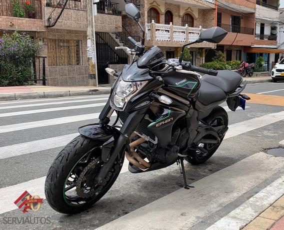 Kawasaki 650cc Er-6n 2012 Oyd11c