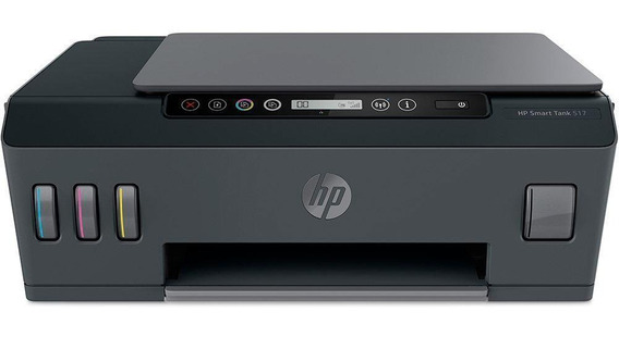 Multifuncional Hp Smart Tank 517 Jato D/tinta Colorida Wi-fi