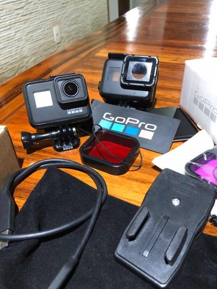 Gopro Hero 7 Black + Cartão 64gb + Caixa Estanque