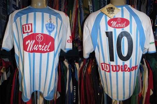 Paysandu 2005 Camisa Titular Tamanho G Número 10.