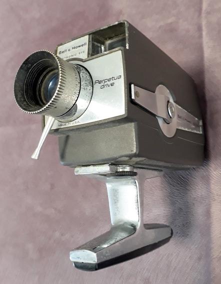 Filmadora Super 8 Bell & Howell Compacta Autoload Vintage