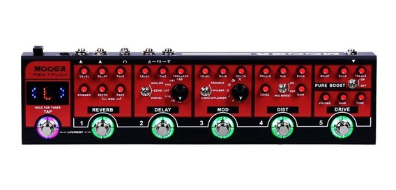 Pedaleira Mooer Red Truck Cpt1