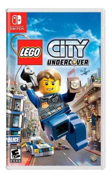 Lego City Undercover Switch Mídia Física Novo Lacrado