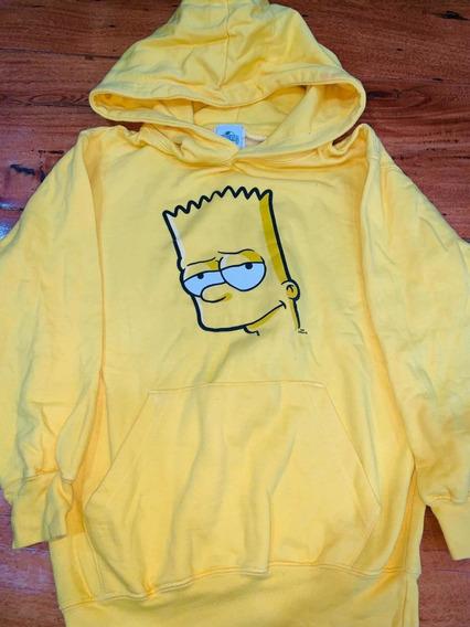 Buzo Bart Simpson Universal Talle 9/10 Niño Usado