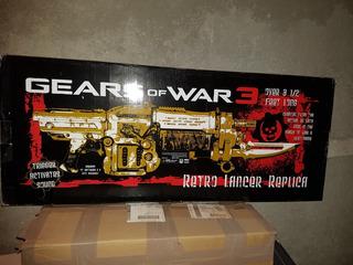 Retro Lancer Replica Gears Of War 3. Nuevo.