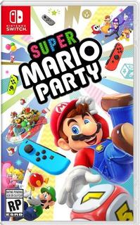 Juego Super Mario Party Switch Nintendo Fisico
