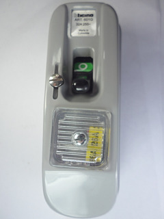Interruptor 601g Bticino Original Color Gris Nuevo 110v