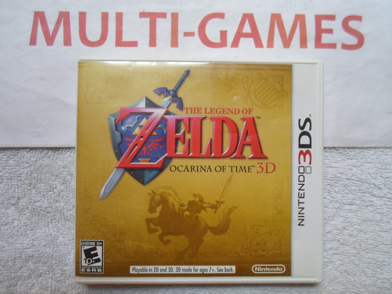 Zelda Ocarina Americano Para 3ds