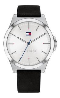 Reloj Tommy Hilfiger Hombre Barclay 1791716 Plateado-negro