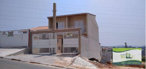 Casa Com 2 Dormitórios À Venda, 80 M² Por R$ 225.000,00 - Vila Josefina - Franco Da Rocha/sp - Ca0550