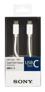 Cable De Carga Rapida Y Transferencia Datos Usb Tipo C Sony