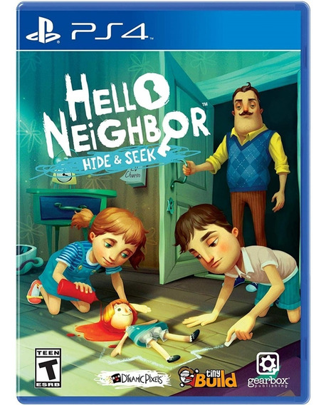 Hello Neighbor Hide & Seek Ps4 Mídia Física Lacrado Original
