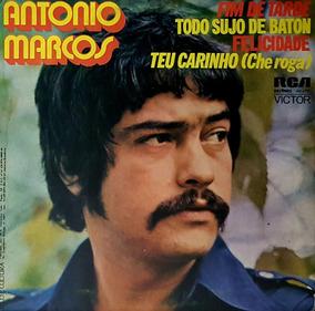 Compacto - Antonio Marcos - Fim De Tarde - Felicidade - 1977