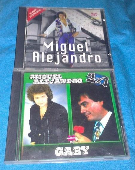 Lote Cds Miguel Conejito Alejandro
