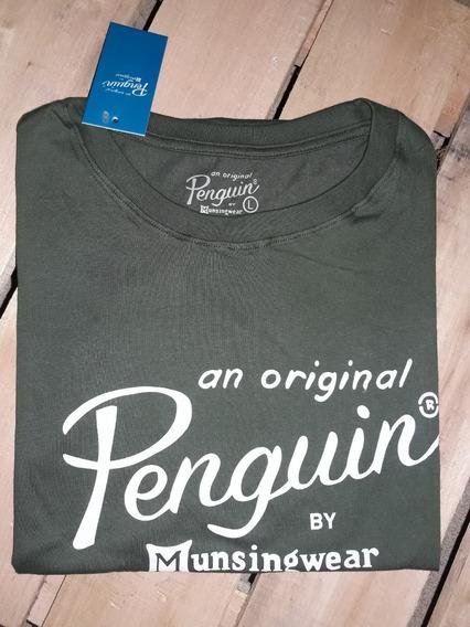Remeras Penguin Algodon Estampadas Y Bordadas Clasicas