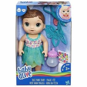 Boneca Baby Alive Hora Da Festa Morena Hasbro B9724 11987