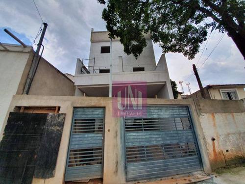 Cobertura Com 2 Dormitórios À Venda, 86 M² Por R$ 280.000 - Vila Francisco Matarazzo - Santo André/sp - Co0947