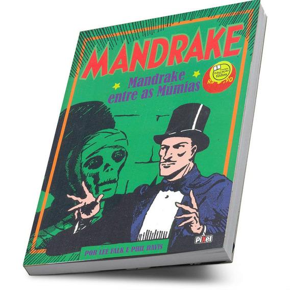 Hq Mandrake Entre As Múmias Brochura Pixel