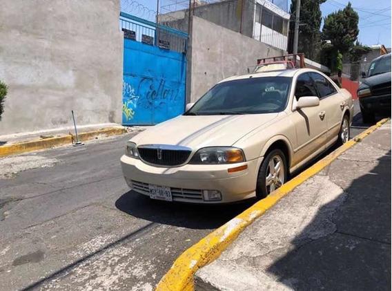 Lincoln Ls Sedan Piel Deportivo Mt 2001