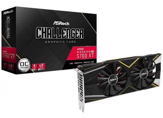 Placa De Vídeo Asrock Radeon Rx5700 Xt Challenger Oc 8gb