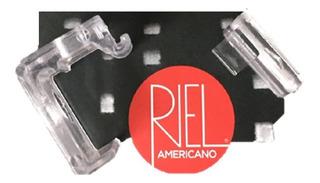 Soporte Cortina Veneciana Riel Americano