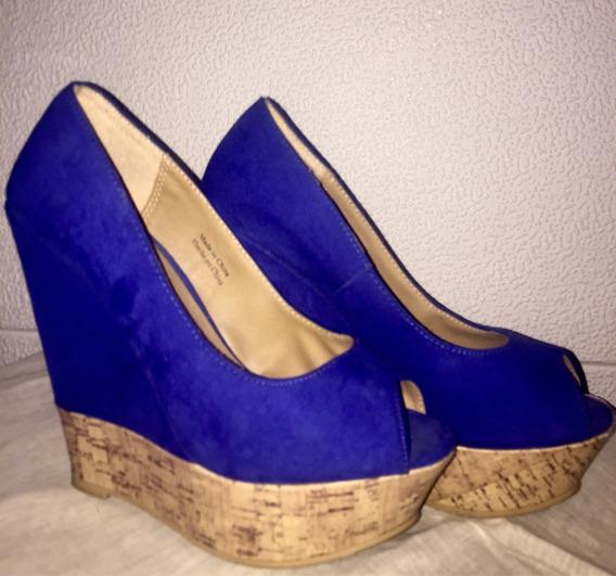 Zapatos Altos Forever 21 Nro 37 Un Solo Uso Impecables Feria